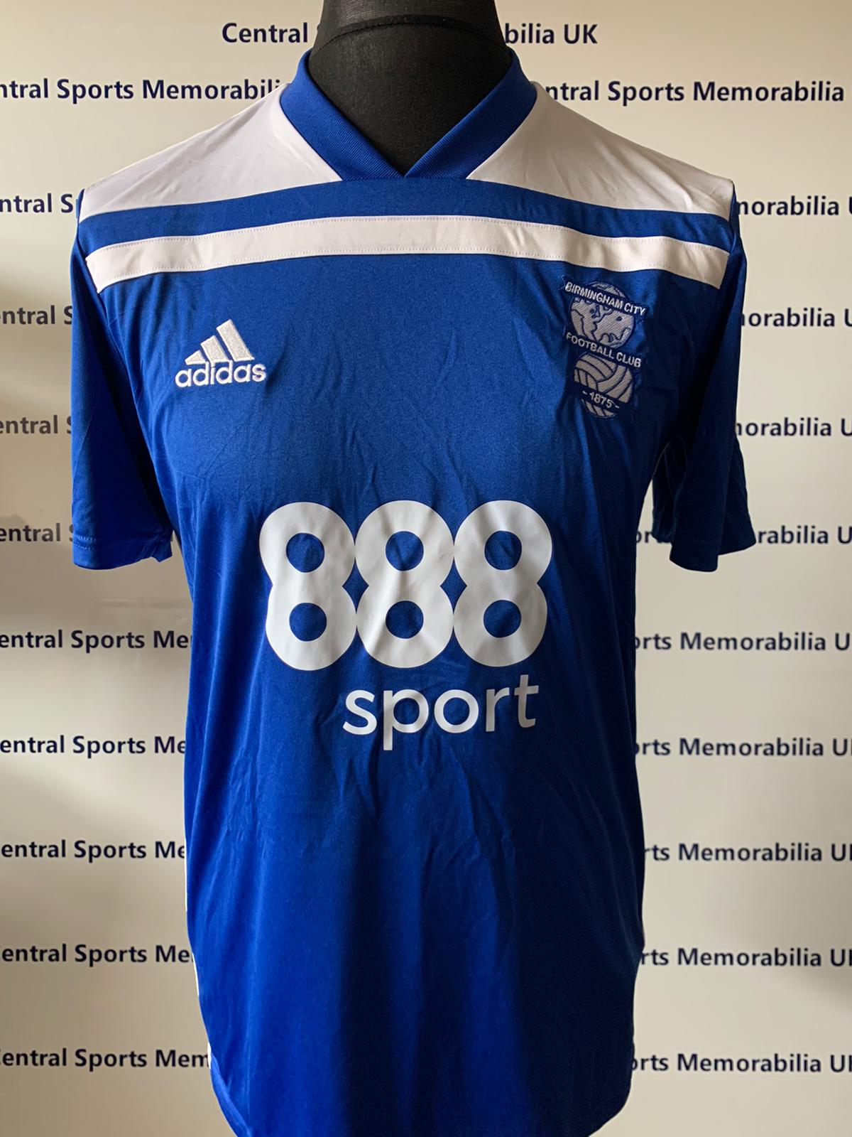 Gary Gardner Match Issue Shirt vs Derby 19/04/19 - Rare - Geoff Horsfield Foundation Sponsor
