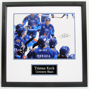 * NEW* Tristan Keck Coventry Blaze Signed Frames - Limited Amount Available