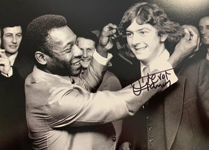The day Pele met Trevor Francis (and pulled his hair!)