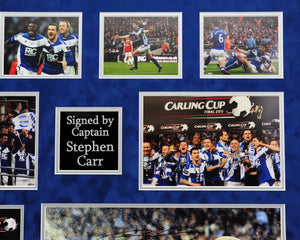 """Stephen Carr's Carling Cup Final"" - Personally signed by the Captain himself"