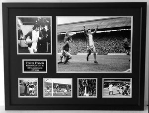 Trevor Francis Signed Birmingham City Career Frame - C
