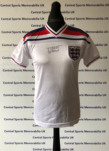 Trevor Francis Signed England Shirt (Not framed)