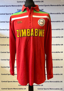 Alistair Campbell, Game Worn Zimbabwe World Cup 1992 Shirt