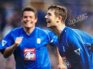 Robert Hopkins, Kenny Burns and Bryan Hughes Signed Photos ONLY £15 each!! Limited Numbers