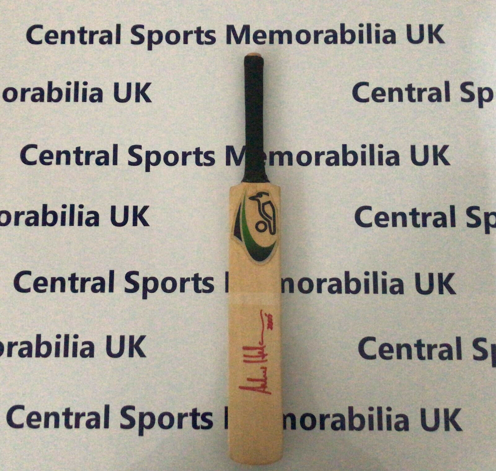 Miniature Signed Cricket Bat: Andrew Hudson, South Africa