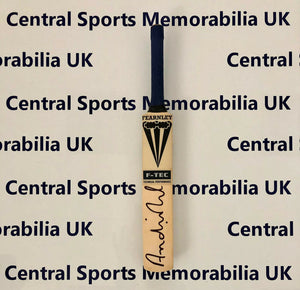 Miniature Signed Cricket Bat: Andre Nel, South Africa