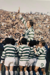 "Billy McNeil Celtic 16 x 12"" colour photo with COA"