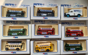 Euro 96 - Collectable Open Bus Collection - Please select from drop down menu