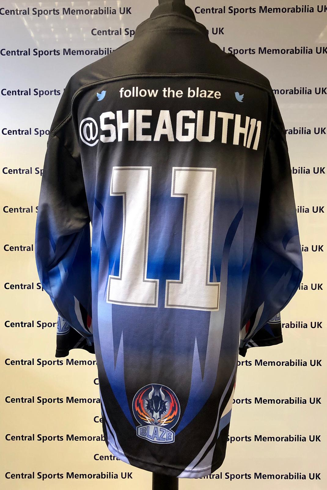 Shea Guthrie Coventry Blaze Warm Up Jersey