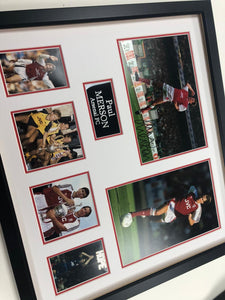 Paul Merson - Arsenal Legend - Signed Frame with COA
