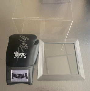 Nigel Benn Personally Signed Glove and Case with COA