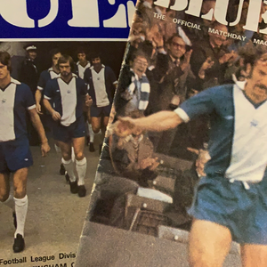Birmingham City Programmes Home and Away - Season 1975-1976