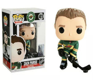 Zach Parise Minnesota Wild POP Hockey Figure