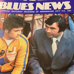 Birmingham City Programmes Home and Away - Season 1976-1977