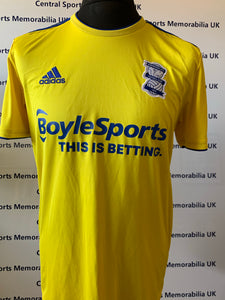 Gary Gardner Match Issue Birmingham City FA Cup Shirt