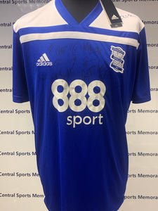 Birmingham Squad Signed Shirt 2018-2019 - BNWT - Two in stock - Choose the size.