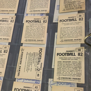 Panini Football 82 Stickers