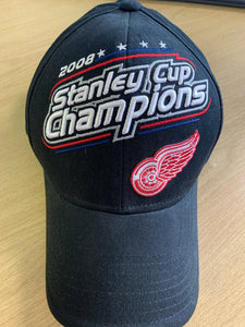 Detroit Red Wings 2008 Stanley Cup Champions adjustable cap