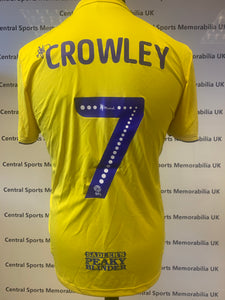Dan Crowley Birmingham City Match Issue Shirt Season 2019-2020