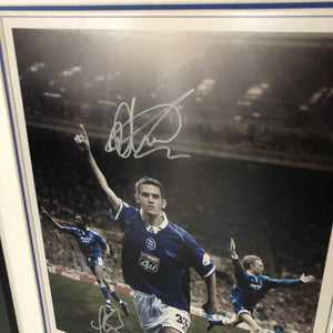 "Birmingham City ""Heroes"" Limited Edition Frame - 100 only!"