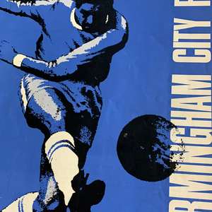 Birmingham City Programmes Home and Away - Season 1967-1968