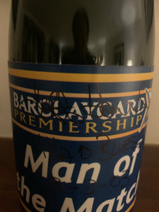 Jeff Kenna's Man of the Match Champagne from Aston Villa v Birmingham City 3rd March 2003