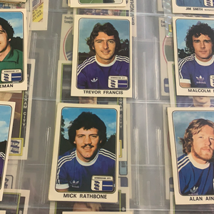 Panini Football 79 Card / Stickers Birmingham City