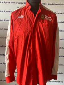 Ferrari 2009 Teamwear - Long sleeve shirt