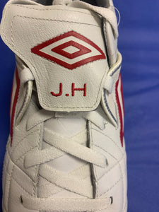Joe Hart Personalised and Signed Match Issue Boots - Never Used with tags.