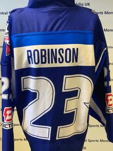 Brett Robinson Game Worn Shirt 2017-18 Play-offs