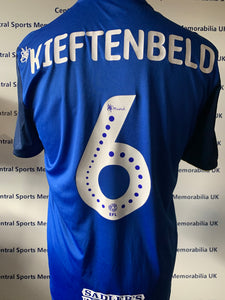 Maikel Kieftenbeld Birmingham City Match Issue NHS Home Shirt
