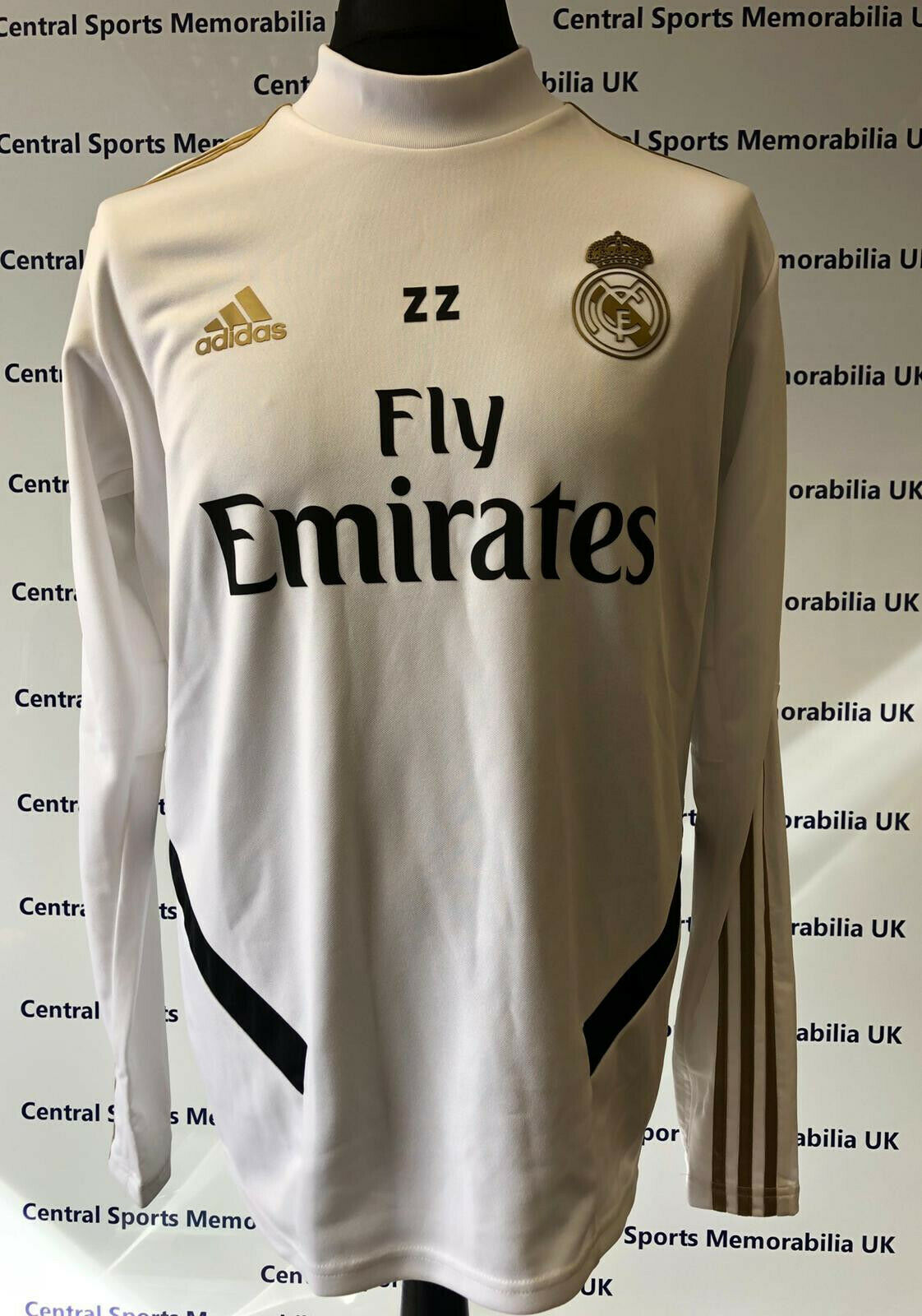 Rare Zinedine Zidane Match Issue Real Madrid Training Sweater, as worn by Zidane