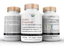 Load image into Gallery viewer, Organic Ceylon Cinnamon Supplement by Eagle