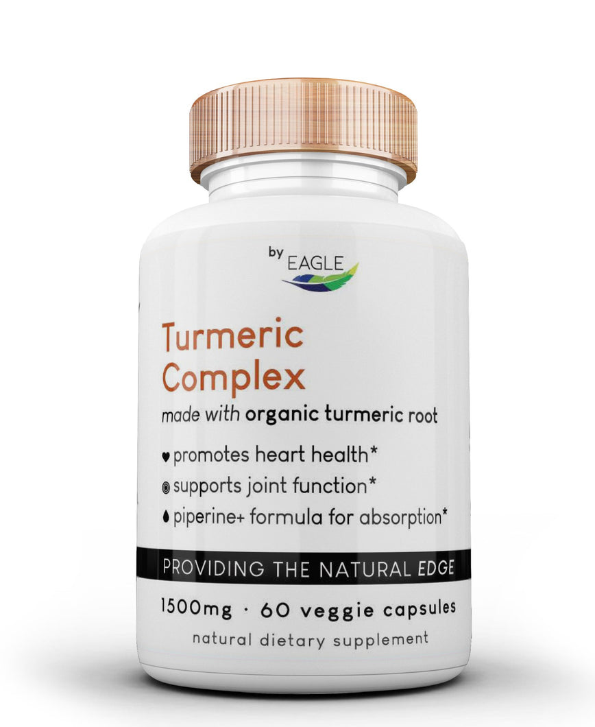 Turmeric Complex - Made with Organic Turmeric Root - Eagle_Supplements