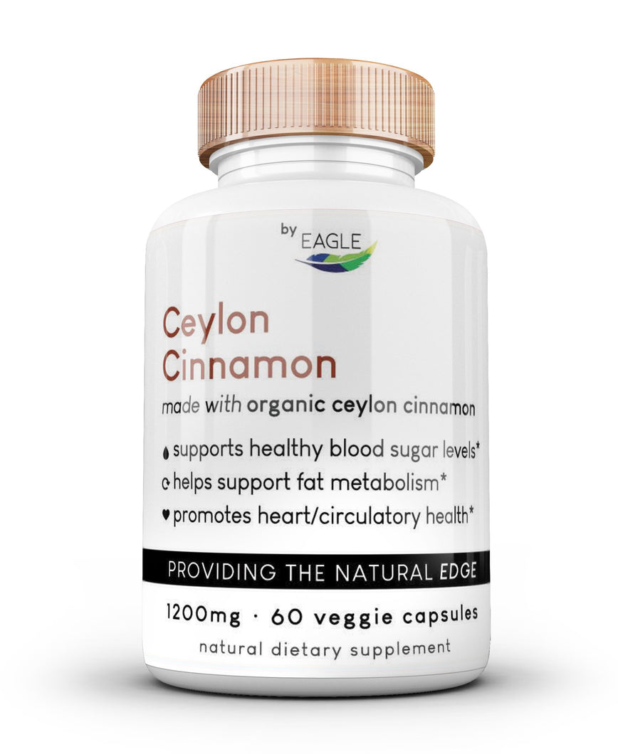 Organic Ceylon Cinnamon Supplement by Eagle - Eagle_Supplements