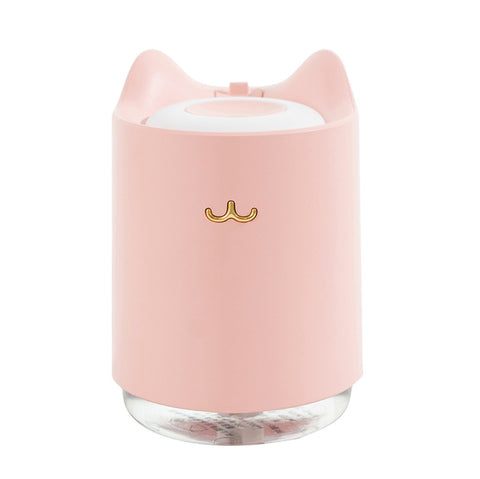 Humidificateur Portable CATTY - Rose - Humidificateur Air Pro