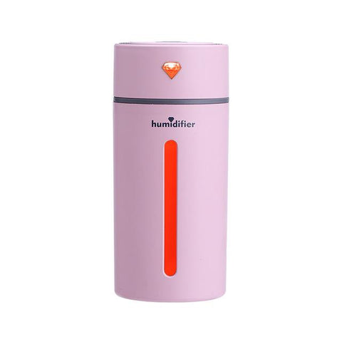 Humidificateur Portable DIAMOND - Rose - Humidificateur Air Pro