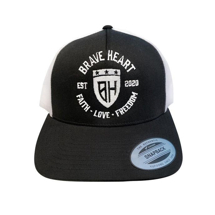 Brave Heart Inspired - Badge Curved Brim Mesh Back Hat