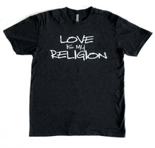 Load image into Gallery viewer, Vintage Black Love is My Religion Triblend Tee