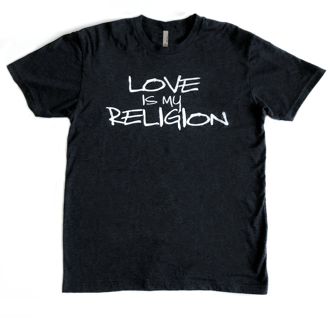 Brave Heart Inspired - Love is My Religion Triblend Tee