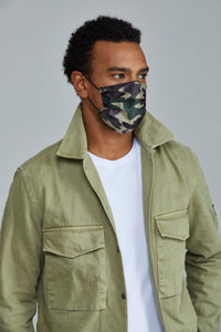 Camo Disposable Mask  (5 or 10 pack)