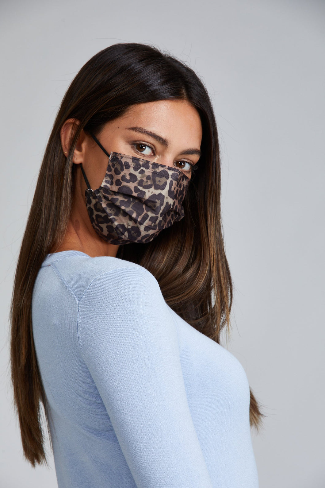 Leopard Disposable Mask  (5 or 10 pack)