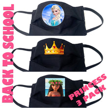 Load image into Gallery viewer, Kids 3 Pack- Princess