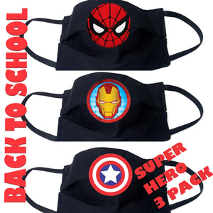 Kids 3 Pack- Superhero