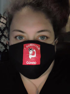 I Survived Covid Mask