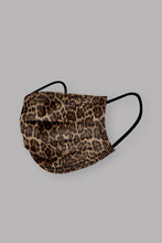 Load image into Gallery viewer, Leopard Disposable Mask  (5 or 10 pack)