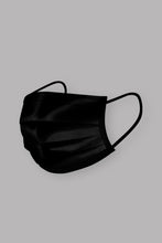 Load image into Gallery viewer, Black Disposable Mask  (5 or 10 pack)