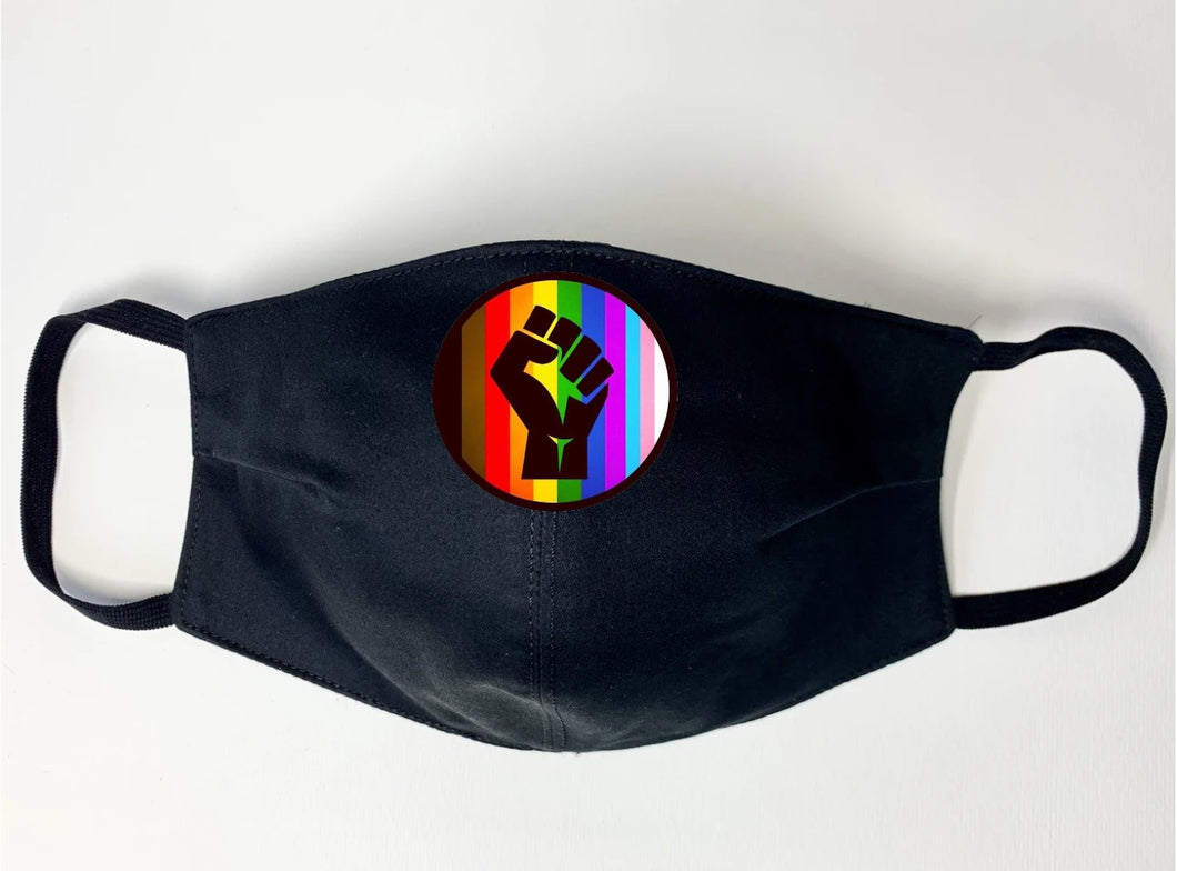 Pride Uprising Mask