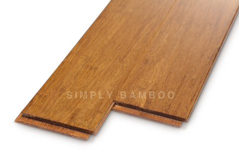 Strand Bamboo Super Light Coffee Flooring  Uniclic (BB-SWCSS-L)
