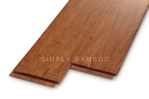 Strand Bamboo Flooring Coffee Medium Strand Solid Uniclic (BB-SWC)